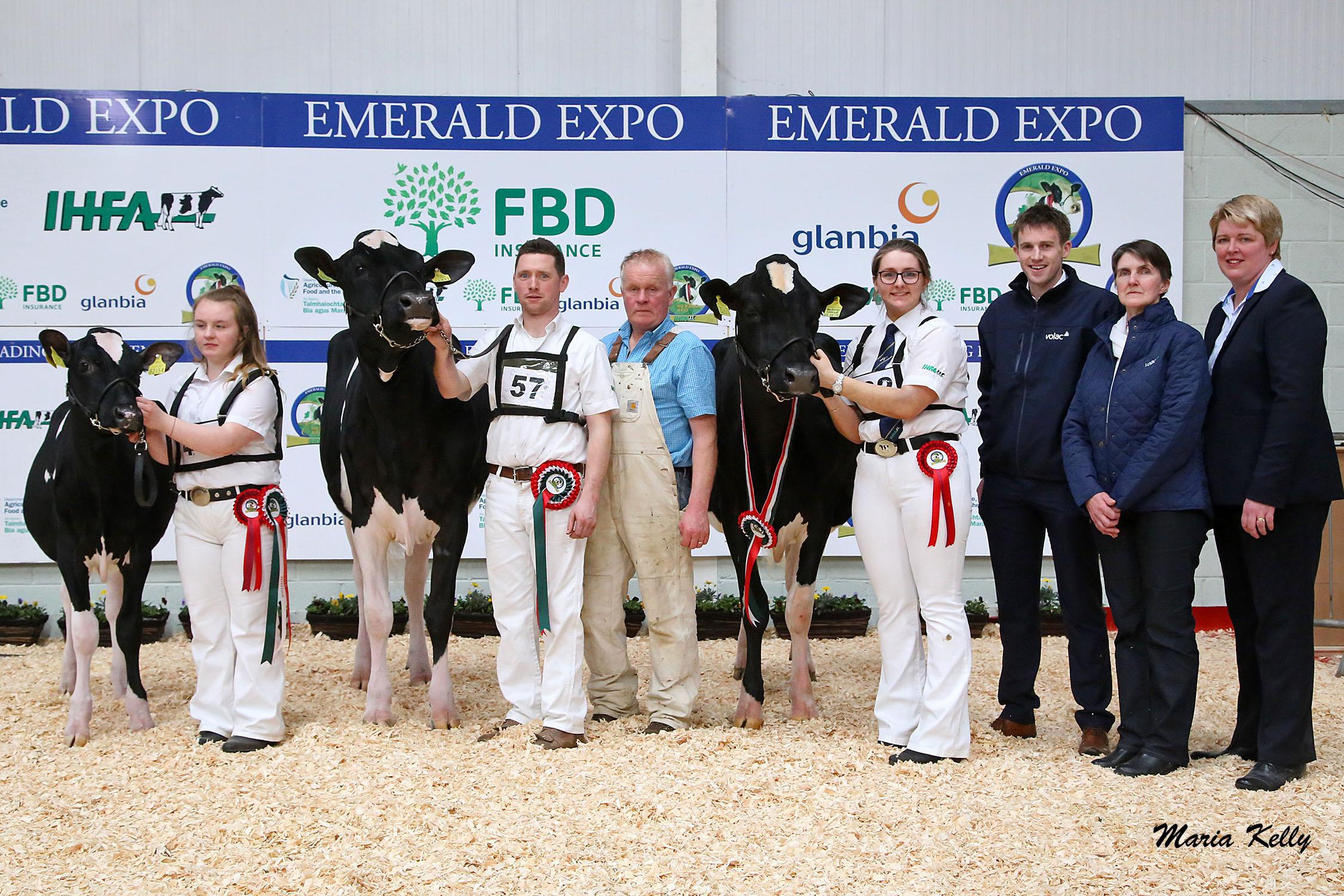 Emerald Expo Volac Junior Championship & Reserve 2019